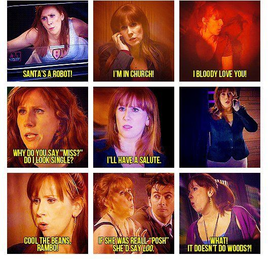 Say what you want about Donna she had some great lines! Thanks to Craig Hurle for this one