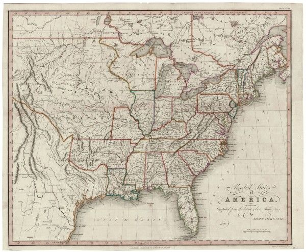 Best The Crisis To The War To Images On Pinterest - Forest map us 1820
