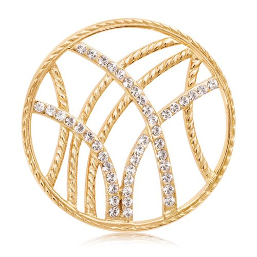 The 'Rebellious Stripes' coin... #nikkilissoni #janesjewelers