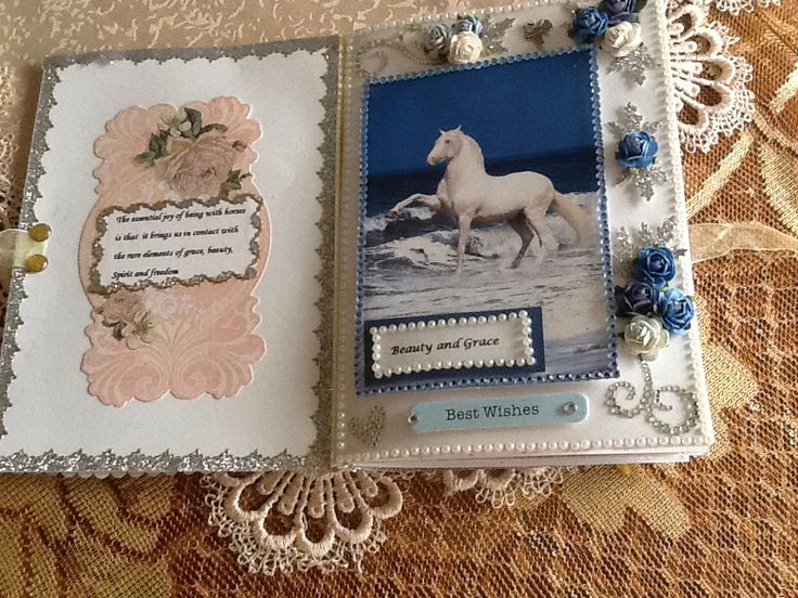 Picture from Google images, border trim and crystal swirl from local craft store, flowers from dusty attic