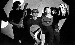 John Cale, Andy Warhol and Nico in 1966