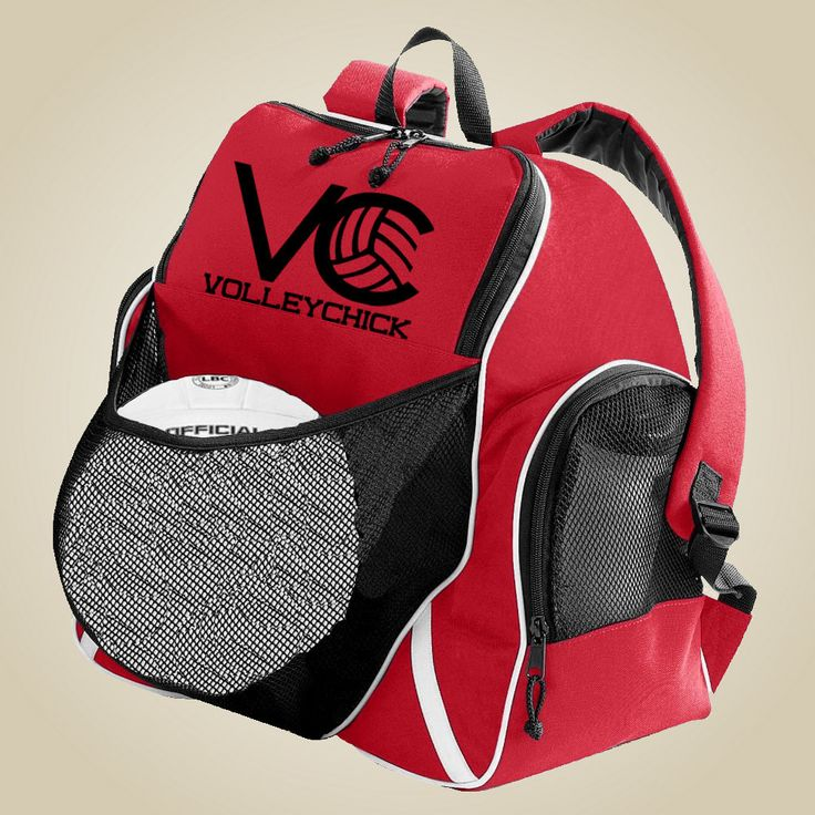 Volleyball gear bag - VolleyChick Ball holder Backpack by VolleyChick on Etsy