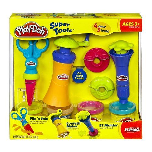 """Play-Doh Super Tools Set - Snip, Mold & Crank -  Hasbro - Toys""""R""""Us"""