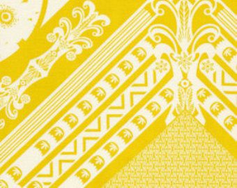 1 Yard  Anna Maria Horner - LouLouthi - Framed - Citron