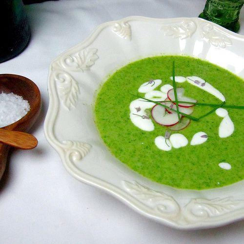 Lettuce Convince You - Butter Lettuce Soup is Good!