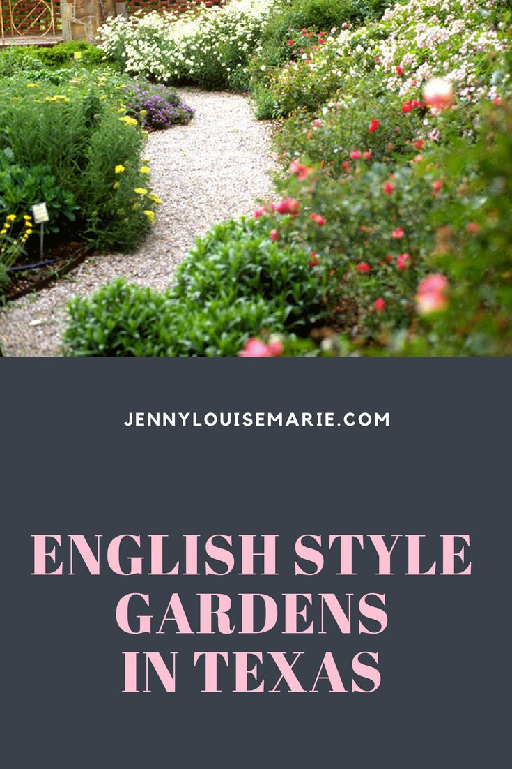 Weston Gardens in Ft. Worth where they use all native plants to create stunning English style gardens.  Hop on over to learn more.  If you're local, you'll definitely want to visit.