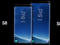 Samsung proudly shows off the Galaxy S8 and S8 Plus Samsung runs down what makes the Galaxy S8 and S8 Plus tick. The new phones boast invisible home buttons, biometric scanners and curved edgeless screens.
