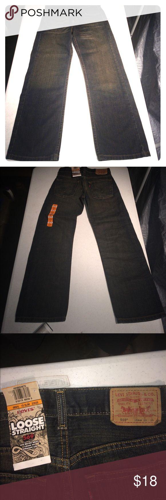 Selling this Levis 569 loose straight leg 10 slim new tags on Poshmark! My username is: micksattic. #shopmycloset #poshmark #fashion #shopping #style #forsale #Levis #Other