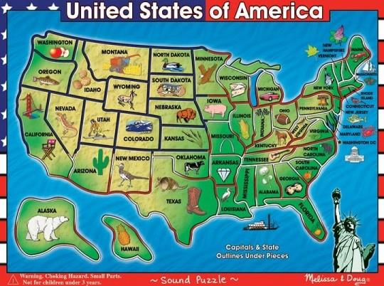 Christmas Island New Hampshire Map