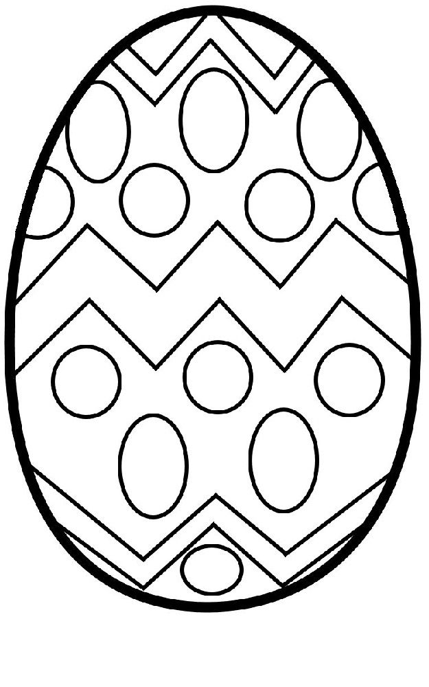 Blank Easter Egg Templates Coloring Easter Eggs Easter Egg Coloring Pages Easter Egg Template