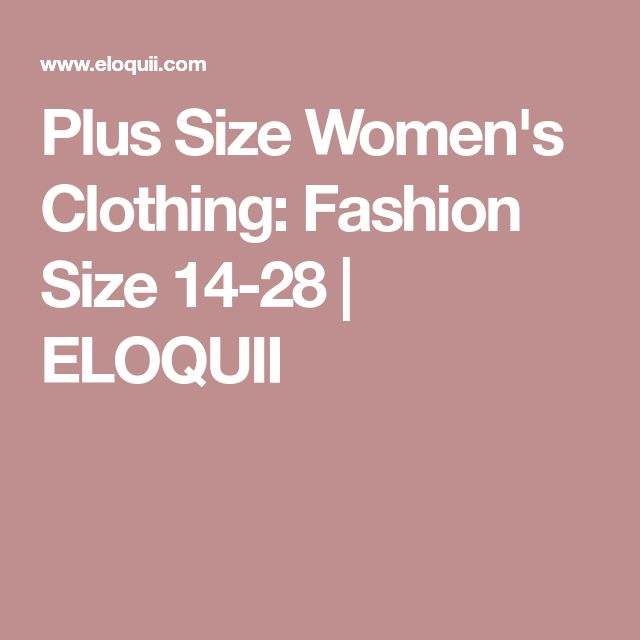 Plus Size Women's Clothing: Fashion Size 14-28 | ELOQUII