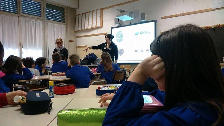 28/2/2017. Scuolartigiana. Lezione di Silvia Burzi con i gioielli di Goku