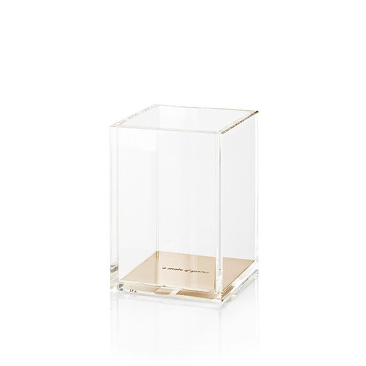 top3 by design - Kate Spade - KS gold acrylic pencil cup