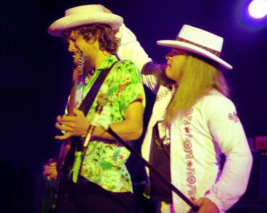 Steve Gaines & Ronnie Van Zant - The Lynyrd Skynyrd Band