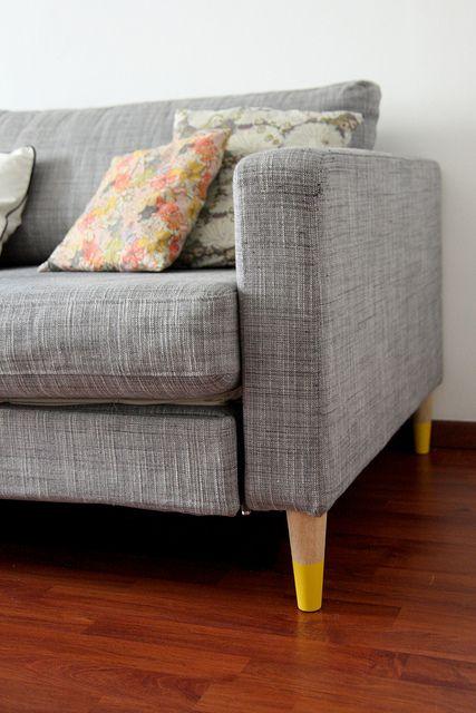 DIY new furniture legs