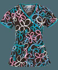 Women's Scrub Tops, Women's Print Tops, Scrub Tops: at Uniform Advantage
