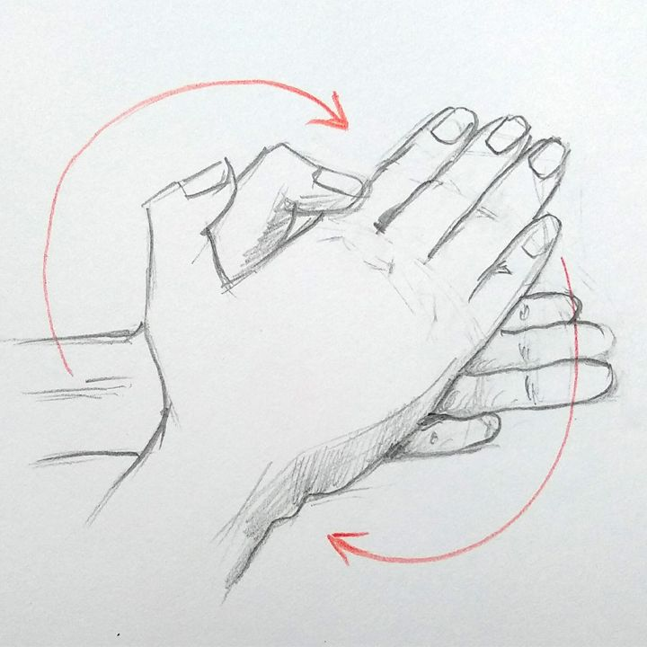 How To Draw Hands Washing Hands Drawing Video 01 Trong 2020
