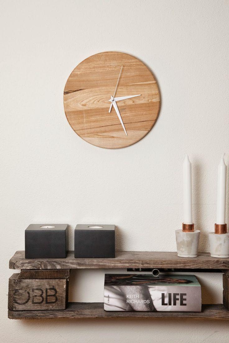 """WOHN:PROJEKT - der Mama Tochter Blog für Interior, DIY, Dekoration und Kreatives : DIY: """"Upcylcle dein Schneidebrett"""" oder wie schnell man seine eigene Uhr designed"""