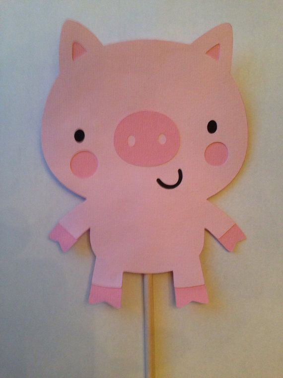 Barnyard Farm cutouts animal cutouts die cuts die by DrPartyCrafts
