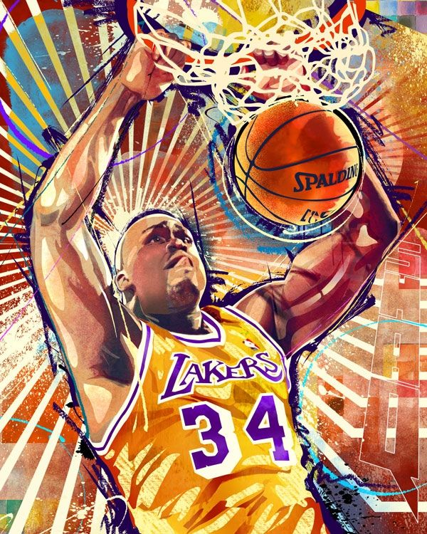 17 Best Images About Shaquille O'neal On Pinterest