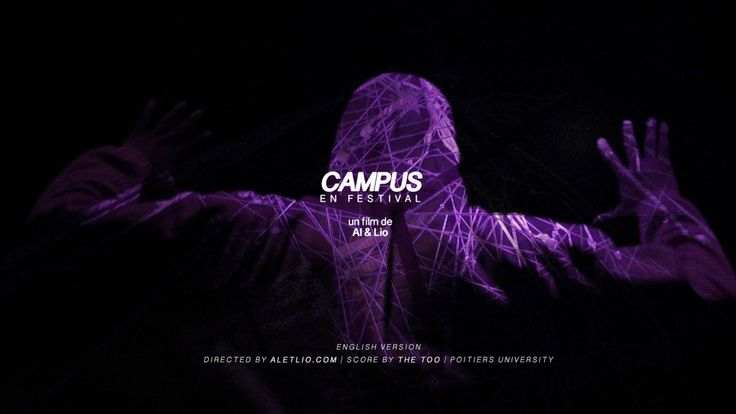 """Campus en festival"", 2016 (English version). 15 days of intensive music shows and arts experiences, in this artistic short immersive film. Production…"