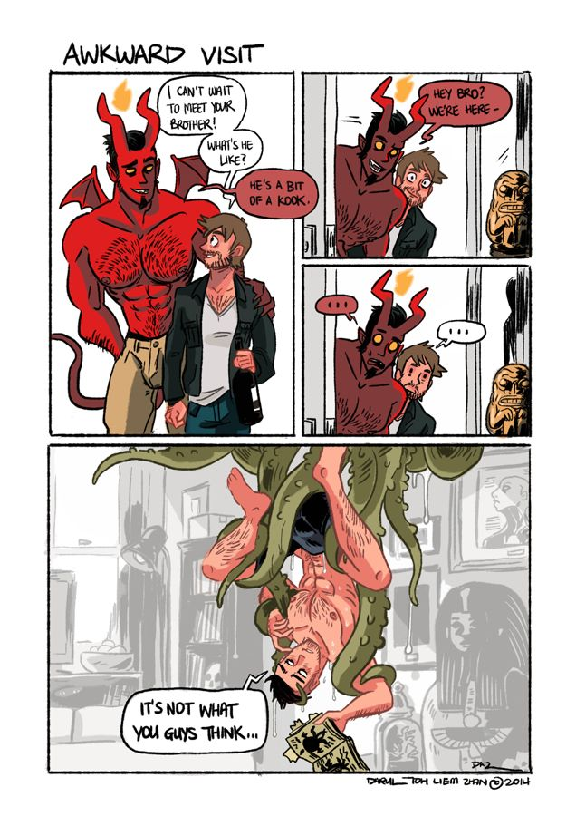 Tobias and Guy — FROM THE VAULT OF 'HELLMOUTH' - PART 01 The...