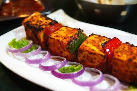 Best Indian Recepie of Garlic and Mint Flavored Paneer Tikka