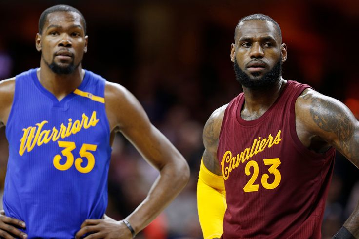 Durant has Twitter debate about trading LeBron