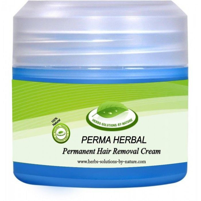 Cream Facial Hair Herbal Perma Permanent Permanently