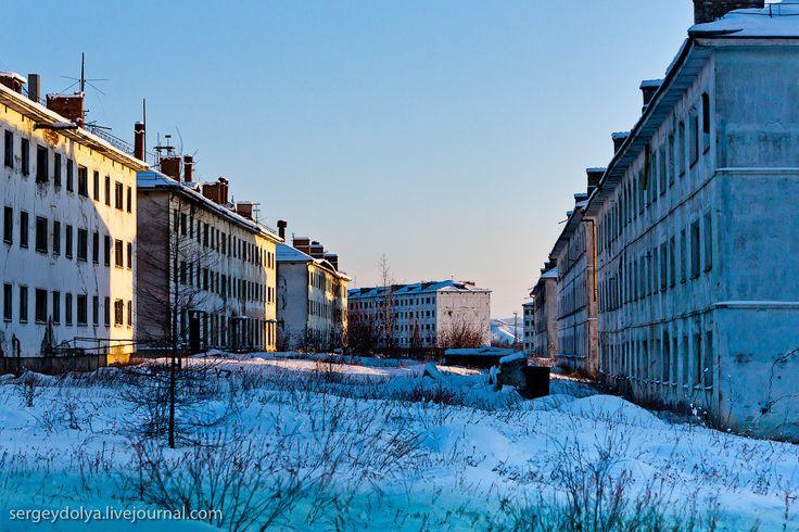 city of Kadykchan of the Magadan region, Russia