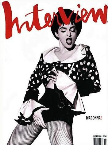 Madonna - Interview Magazine [United States] (1990)