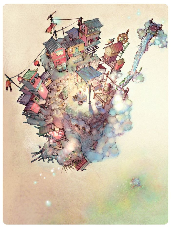 《小小人家》---勺子__涂鸦王国插画