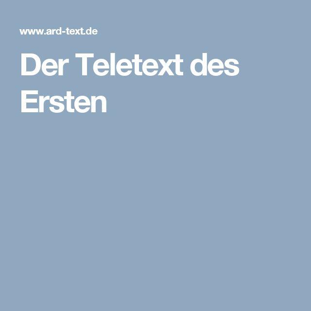 Der Teletext des Ersten