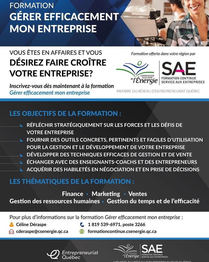 Entrepreneur? Travailleur autonome? Voici une bonne façon de s'informer et parfaire vos connaissances! J'ai la chance de donner la formation sur les réseaux sociaux dans cette formation  #travailleurautonome #entrepreneur #entrepreneuriat #formation #mauricie #troisrivieres #shawinigan #joliette #becancour