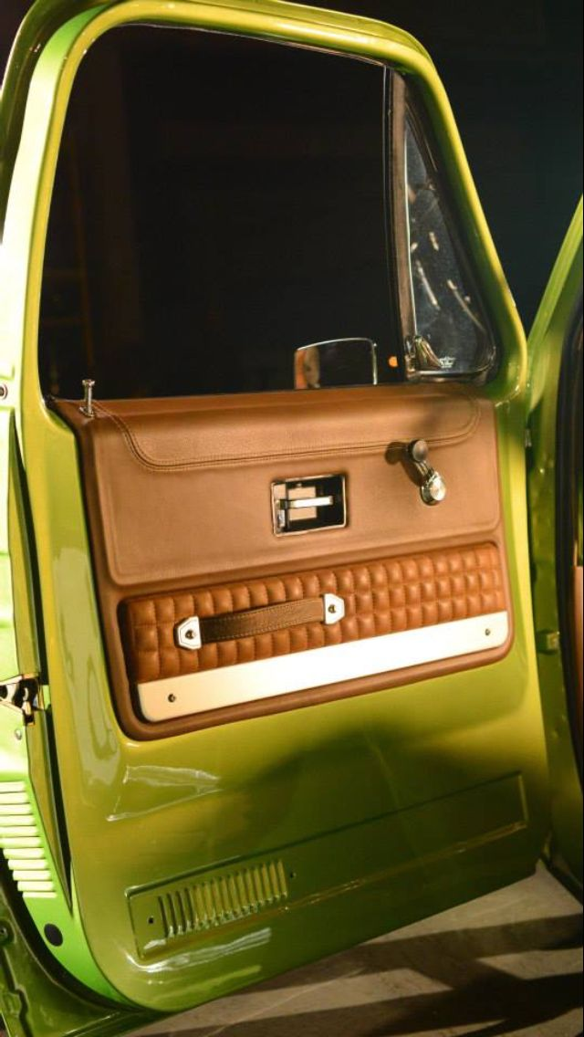 C10 Gas Monkey Garage C10 Chevy Truck Custom Car Interior Ford Chevrolet