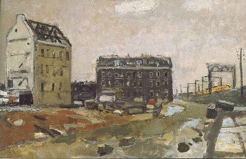 """Otto de Kat - """"Afbraak Haarlemmer Houttuinen"""", Amsterdam, 1974"""