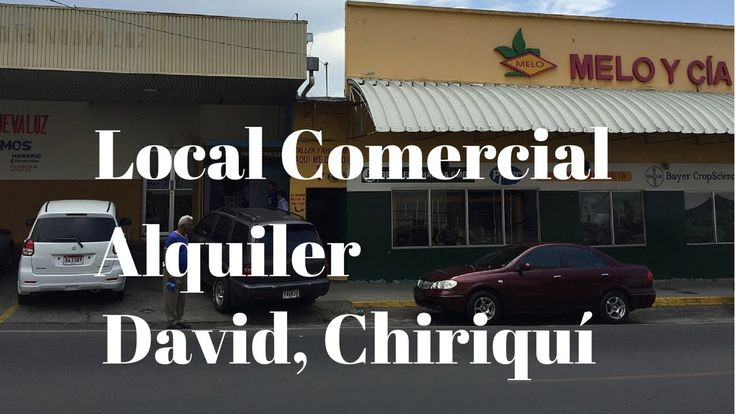 #‎Alquiler‬ ‪#‎local‬ ‪#‎comercial‬ en ‪#‎Calle‬ Cuarta ‪#‎David‬. ‪#‎Chiriquí‬ ‪#‎Commercial‬ for ‪#‎rent‬ on a busy ‪#‎street‬.