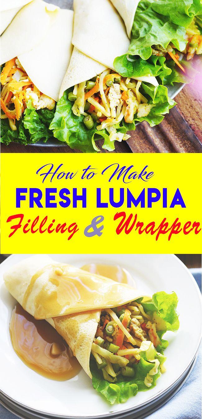 Recipe Sariwa Lumpia Filipino