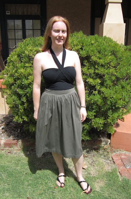 "Pattern Runway ""Very Gathered Skirt"" - Free Pattern"