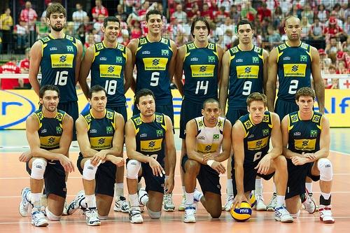 Brazil Volleyball Team  Fot. Mariusz Pałczyński / http://www.facebook.com/MariuszPalczynskiPhotography