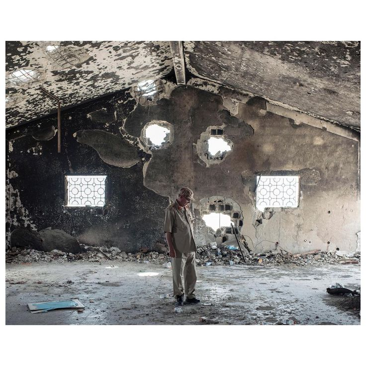 Today on Magnum: In the wake of a damning new report on NATO's 2011 intervention in Libya, Lorenzo Meloni's photographs from one of Libya's key conflict zones help to unpick a complicated situation. See the feature on magnumphotos.com. Link in bio. PHOTO: General-Brigadier Mohamed Al-Ghossri surveys the damage an IS suicide bomb wreaked upon a field hospital. Libya, Sirte. July 2016. © #LorenzoMeloni/#MagnumPhotos