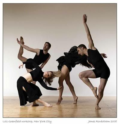 Contemporary dance teaching advises and ideas. Includes a structure to organize the content of a class and links to related pages.