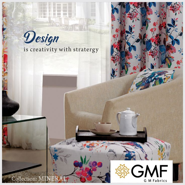 This #NewYear accessorize your #Home with our #IntricateDesigns and make it look stunning like never before #OnlyWithGMF!! Explore more on www.gmfabrics.com #HomeFabrics #Cushions #Curtains #Upholstery #FineFabric #GMF