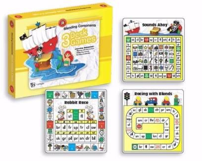 Kids Reading Learning Games Blending Consonants Desk Game    From Green Ant Toys Online Toy Store Www.greenanttoys.com.au   #games #literacy #reading #educationaltoys