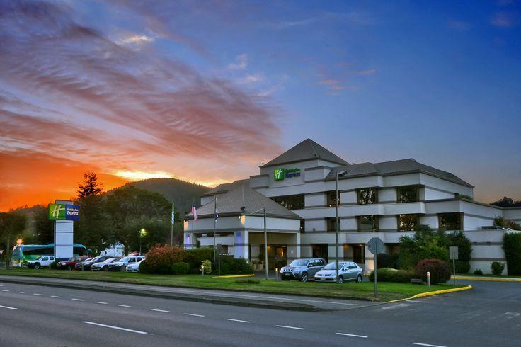 #Temuco #Holiday #Inn #hotel #sunset