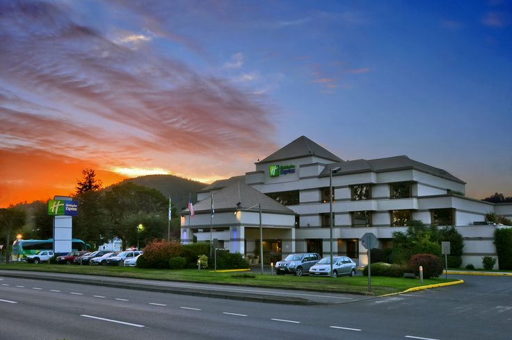 #Temuco #Holiday #Inn #hotel #sunset