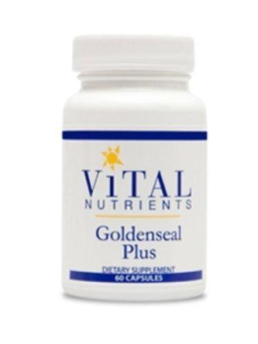 Vital-Nutrients-Goldenseal-Plus-600mg-60-Capsules-VNGP-2-Pk-Exp-8-17-SD