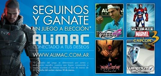 Promoción Seguinos en Facebook, Alimac