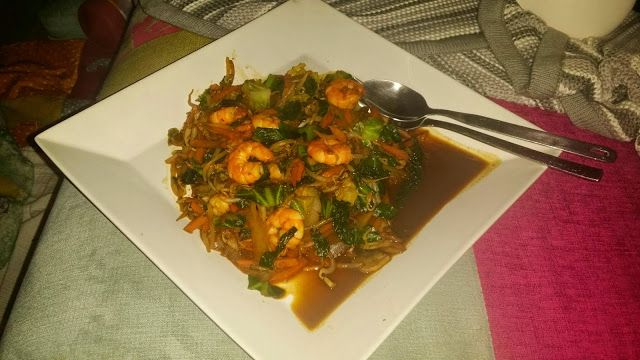 My Slimming World Journey: Slimming World King Prawn Stir Fry