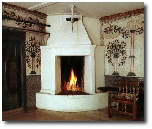 Swedish Interiors are those taken from photographer Photographer Joanna Holmgren found in two publications Skansen: Traditional Swedish Style , Swedish Folk Art: All Tradition Is Change